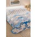 Покрывало стеганое АртПостель(ART2251), цвет: флоренция,голубой