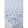 Простынь на резинке АртПостель(ART251), цвет: мотылек,синий