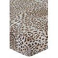 Простынь на резинке АртПостель(ART253), цвет: леопард,коричневый