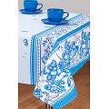 Скатерть АртПостель(ARTSB150150), цвет: хрусталь,голубой