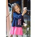 Платьице для девочки Bossa Nova(BN151B167), цвет: синий,розовый