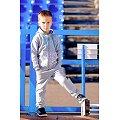Толстовка для мальчика Bossa Nova(BN181M462), цвет: серыймеланж,голубой