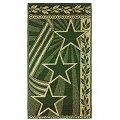 Полотенце Авангард(C81YA), цвет: звезды,зеленый