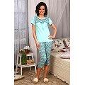 Пижама Modellini(MD432), цвет: бирюзовый
