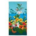 Полотенце вафельное АртПостель(PK80150), цвет: багамы,цветной