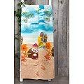 Полотенце вафельное АртПостель(PK80150), цвет: отпуск,цветной