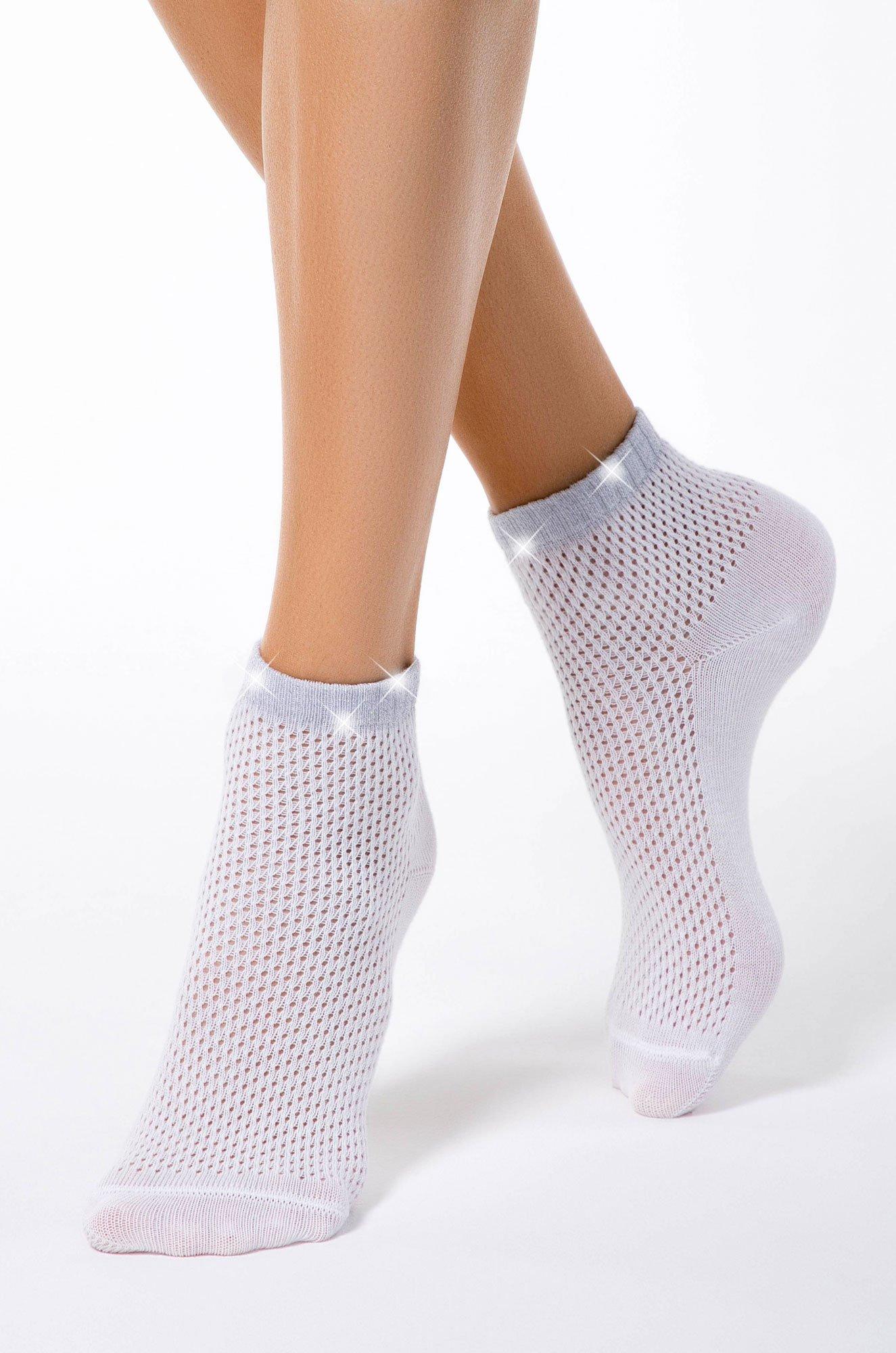 Conte elegant, Хлопковые укороченные летние носочки 15S81SP (6563008)