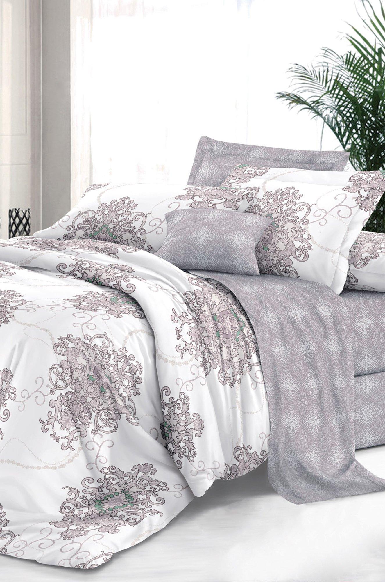 Art Cotton, Постельное белье из сатина, евро, наволочки 70*70 Art Cotton ARTCT658303 (01842514488)