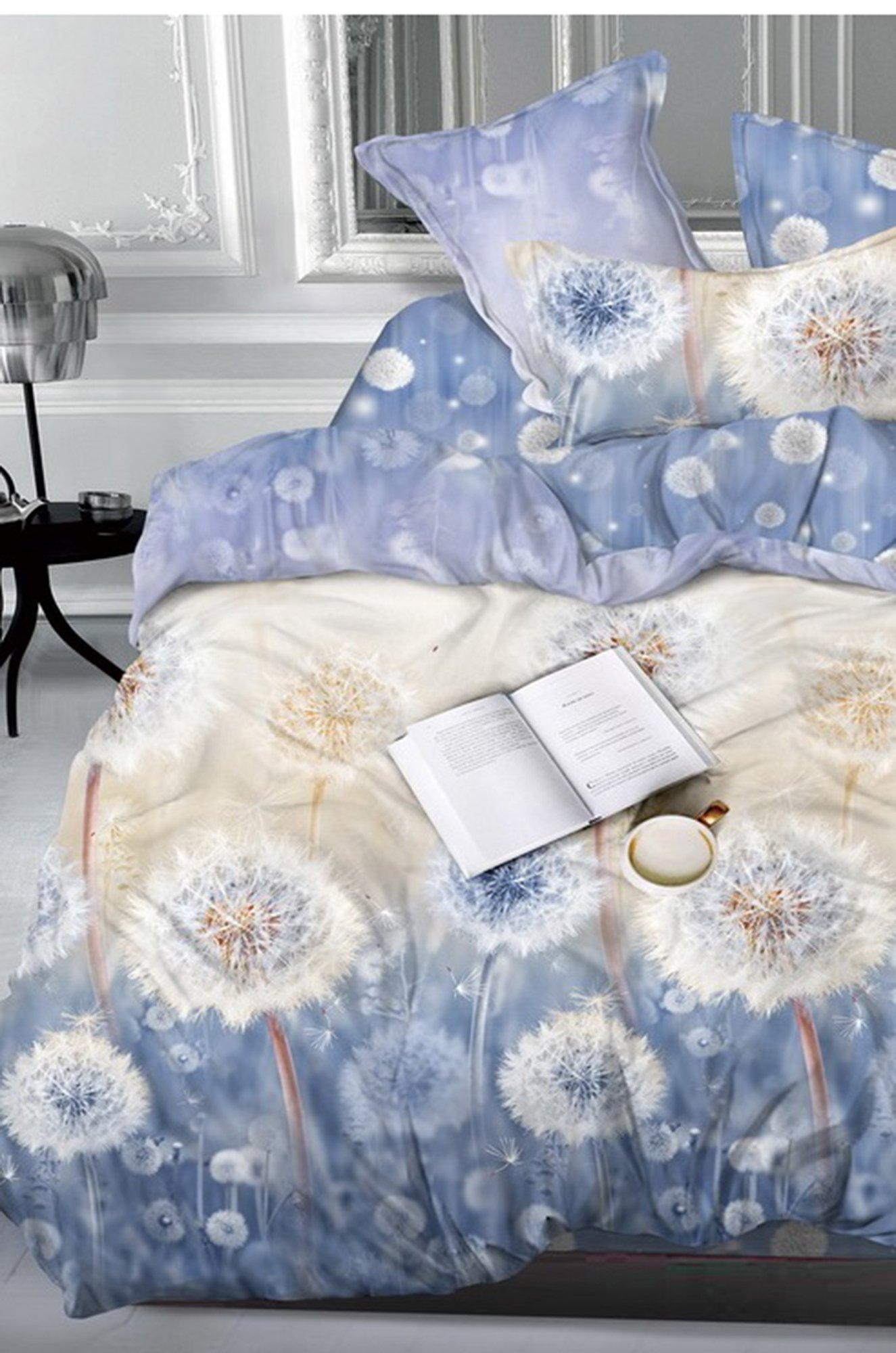 Art Cotton, Постельное белье из сатина, евро, наволочки 70*70 Art Cotton ARTCT658365 (01439229961)
