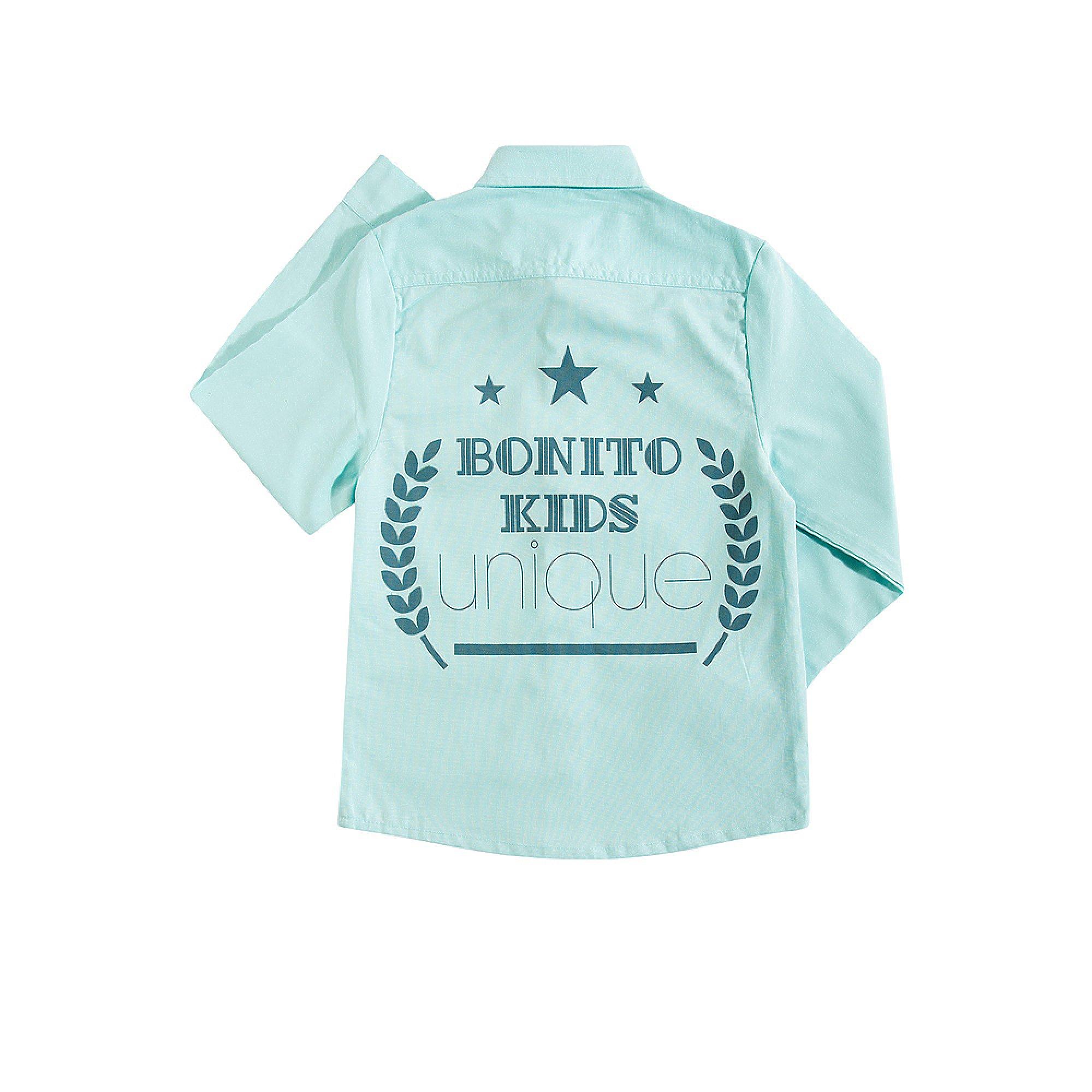 e1191616abb Рубашка для мальчика Bonito купить оптом в интернет-магазине ...