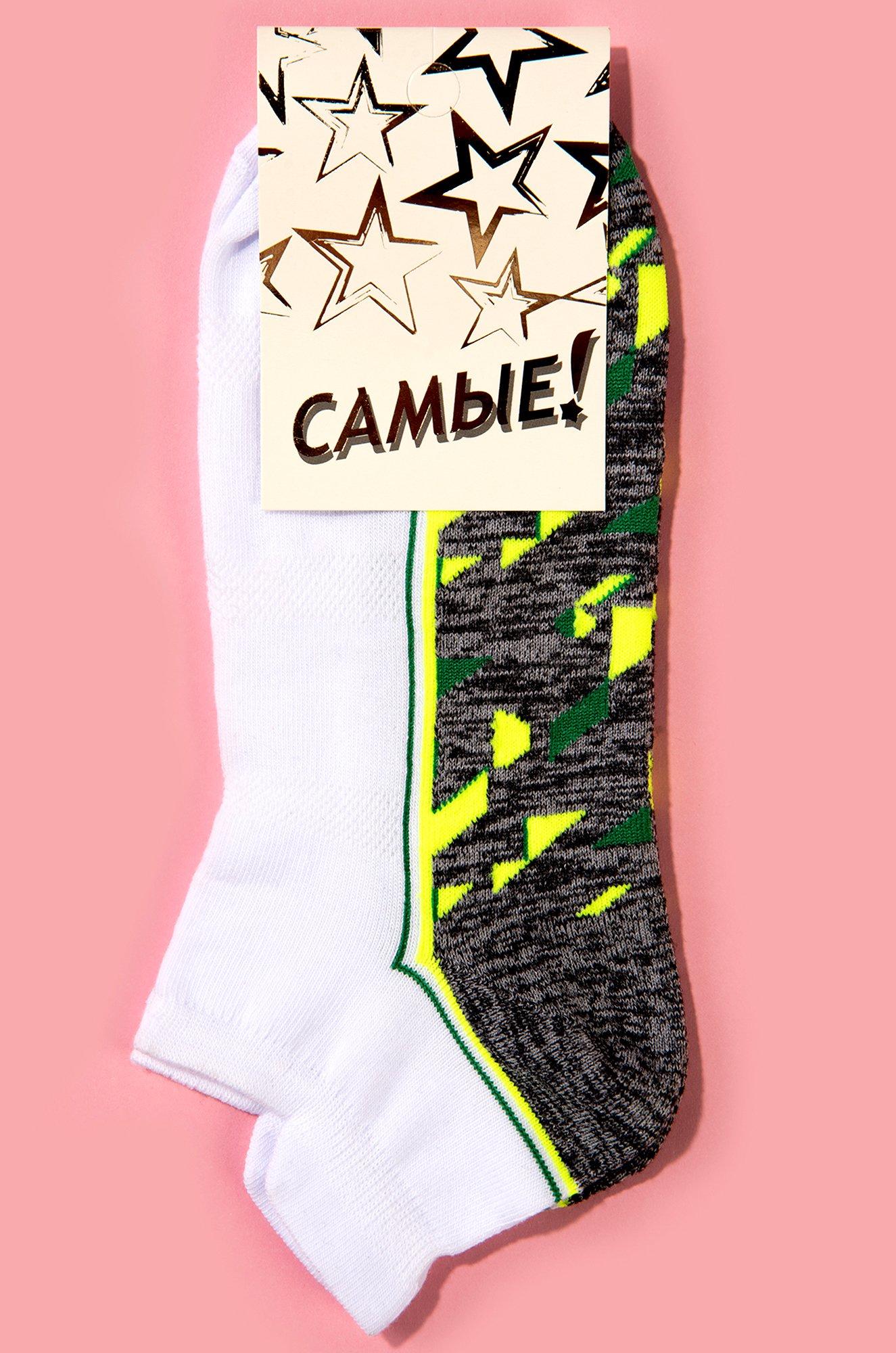 САМЫЕ!, Укороченные женские носки с контрастной стопой C1436 (6631896)