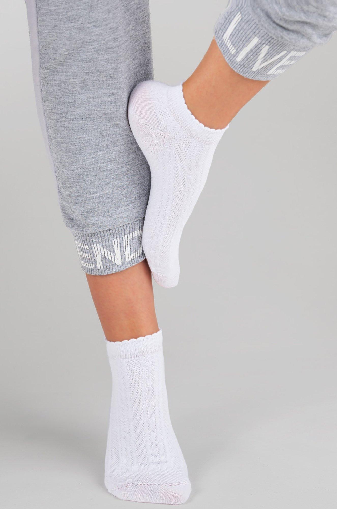 САМЫЕ!, Укороченные ажурные женские носки C1486 (6621857)