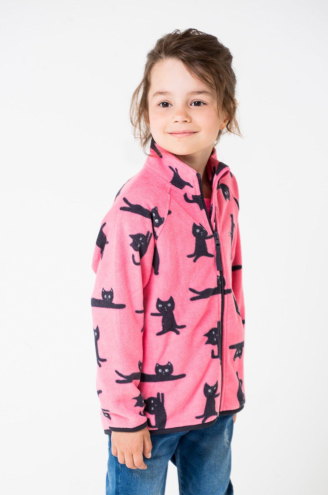 Флисовая куртка детская Crockid