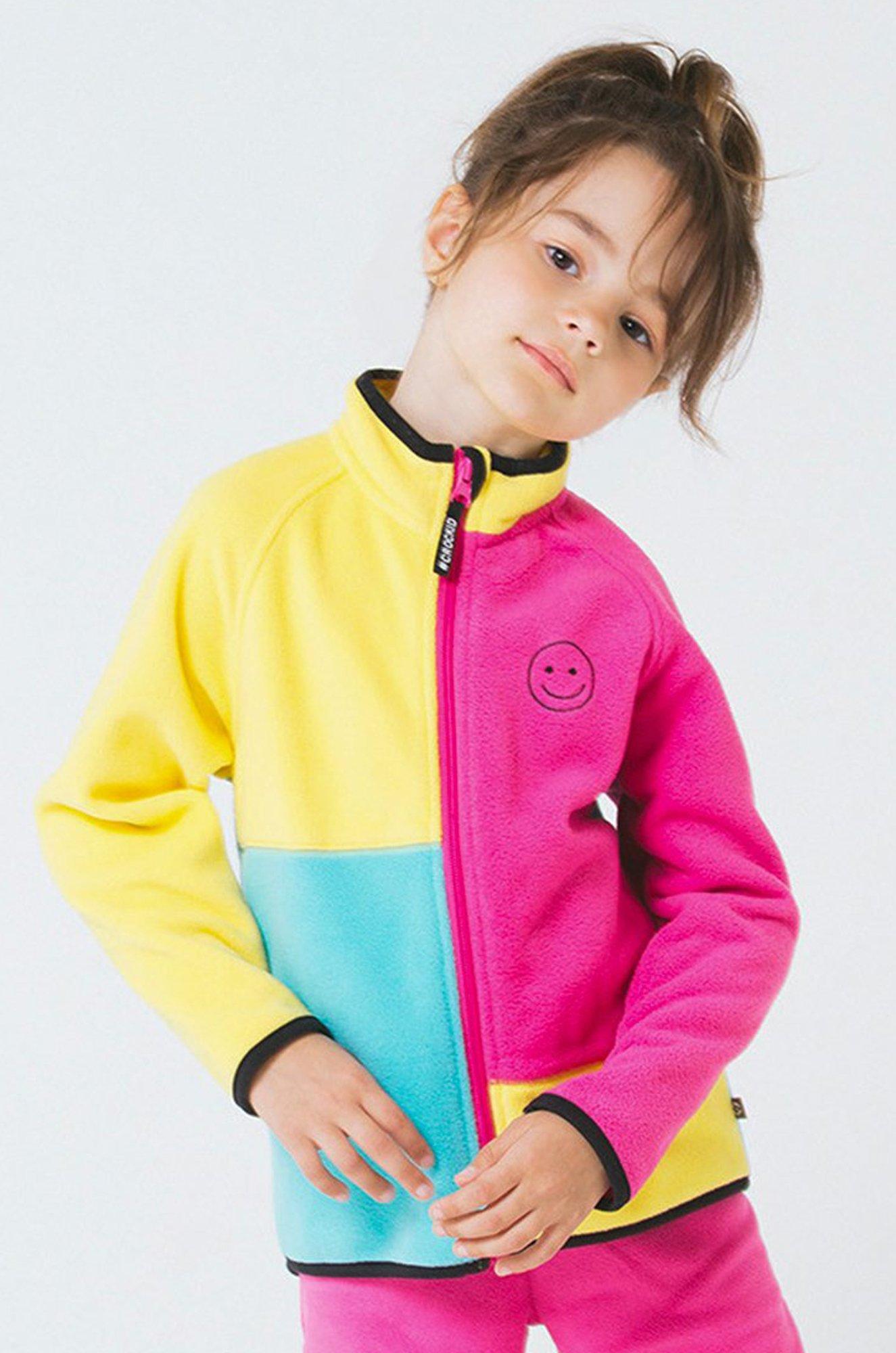 Флисовая куртка для девочки Crockid