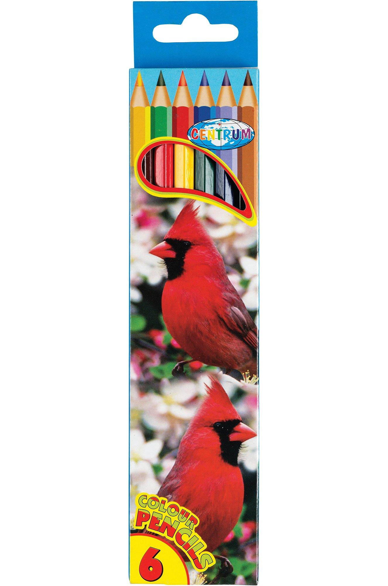 CENTRUM, Набор карандашей цветных 6 цв. CENTRUM CEN80167 (1048257024)