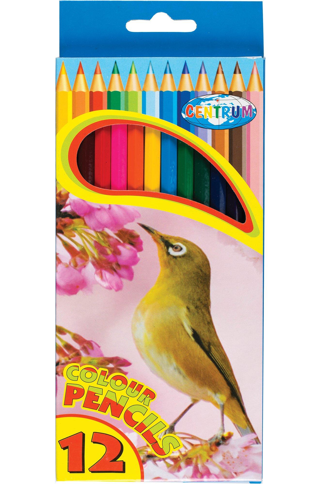 CENTRUM, Набор карандашей цветных 12 цв. CENTRUM CEN80169 (01680626331)