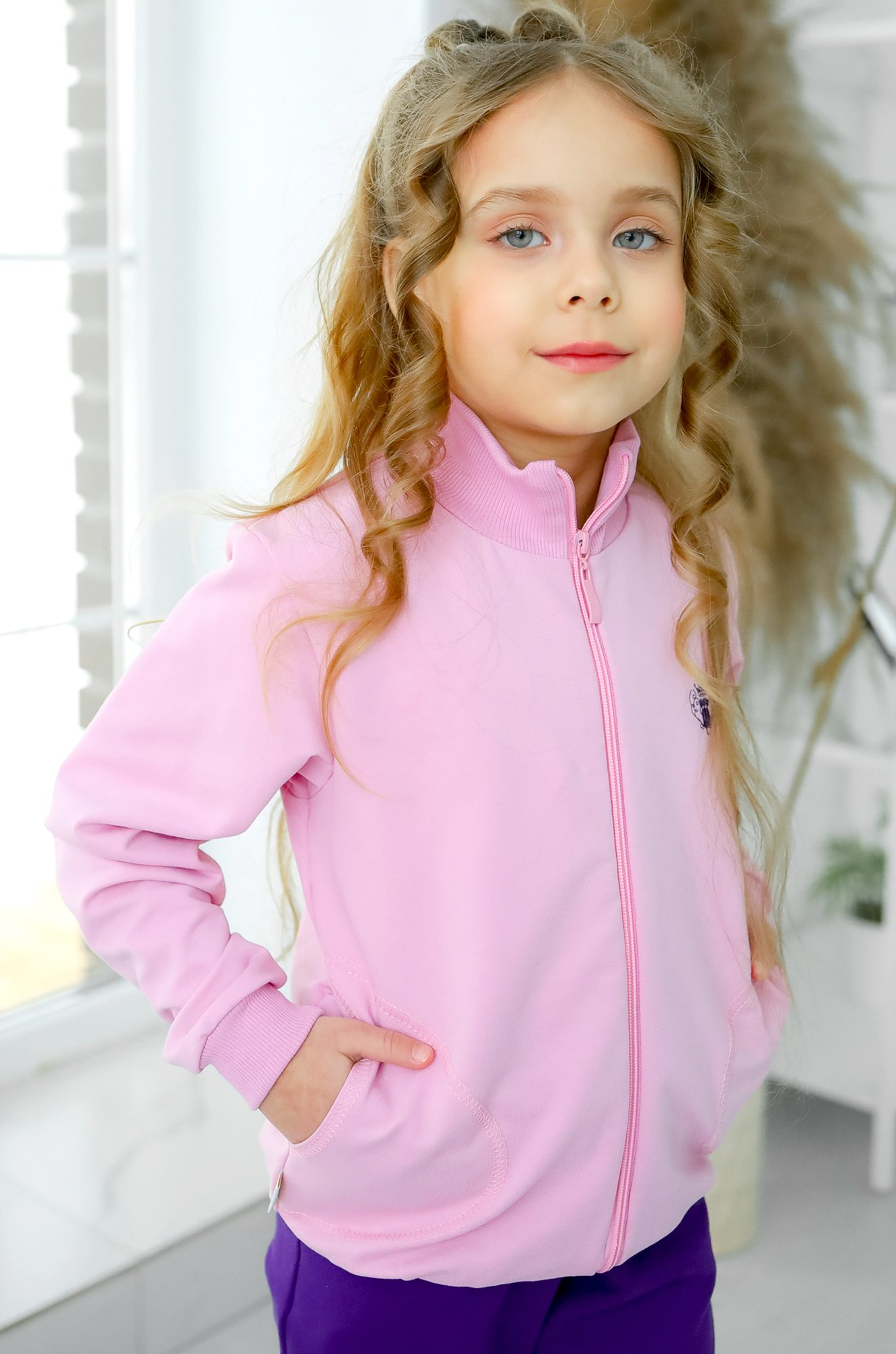 Looklie, Толстовка для девочки Looklie LK0549D (1547393244)
