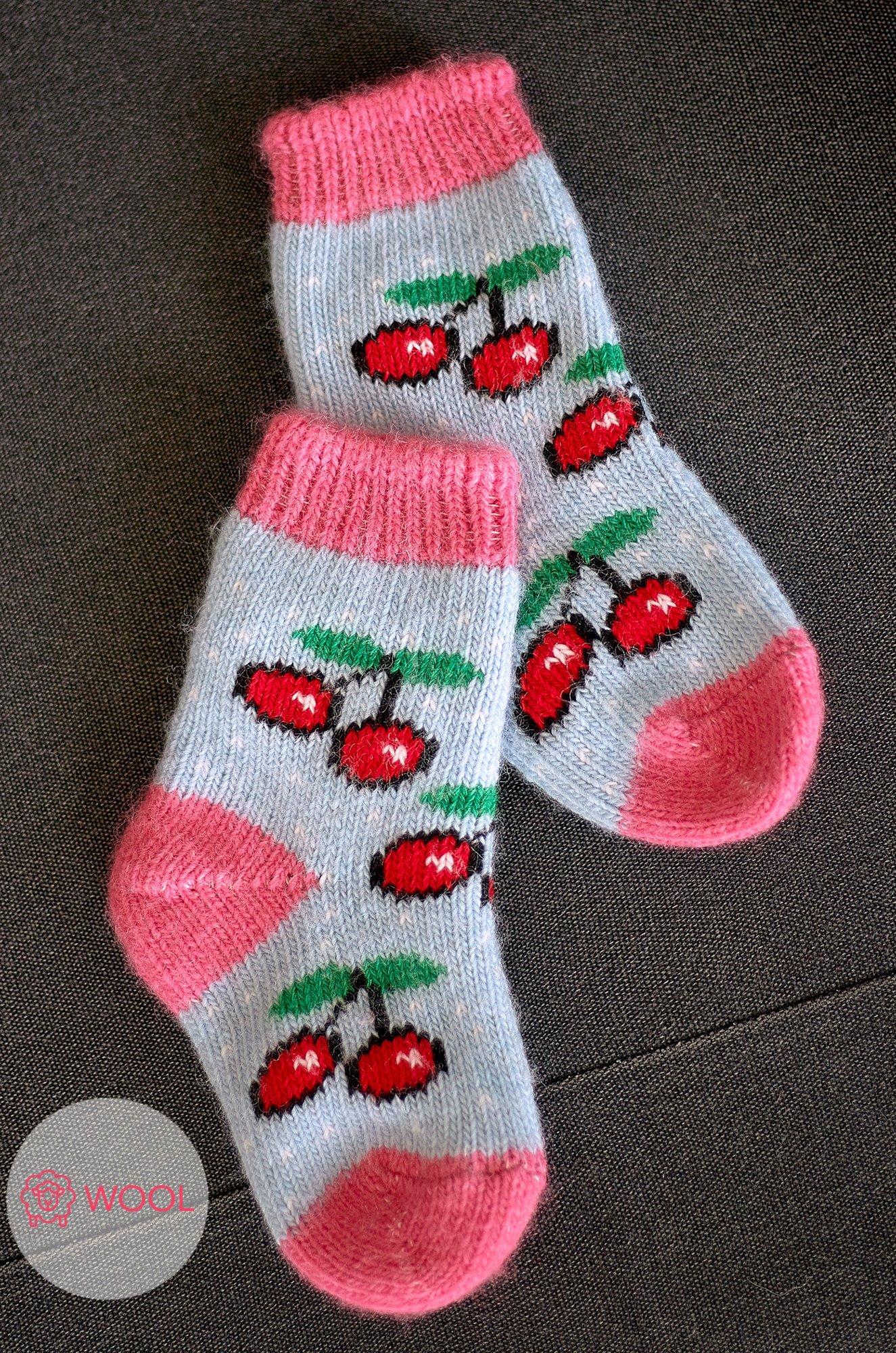 Бабушкины носки, Носки для девочки шерстяные Бабушкины носки N6R1301 (1888086934)