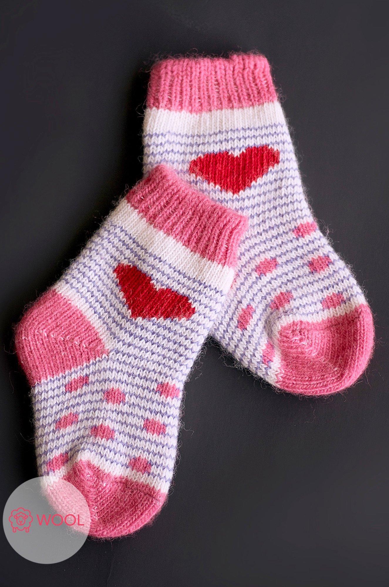 Бабушкины носки, Носки для девочки шерстяные Бабушкины носки N6R1311 (1888086933)