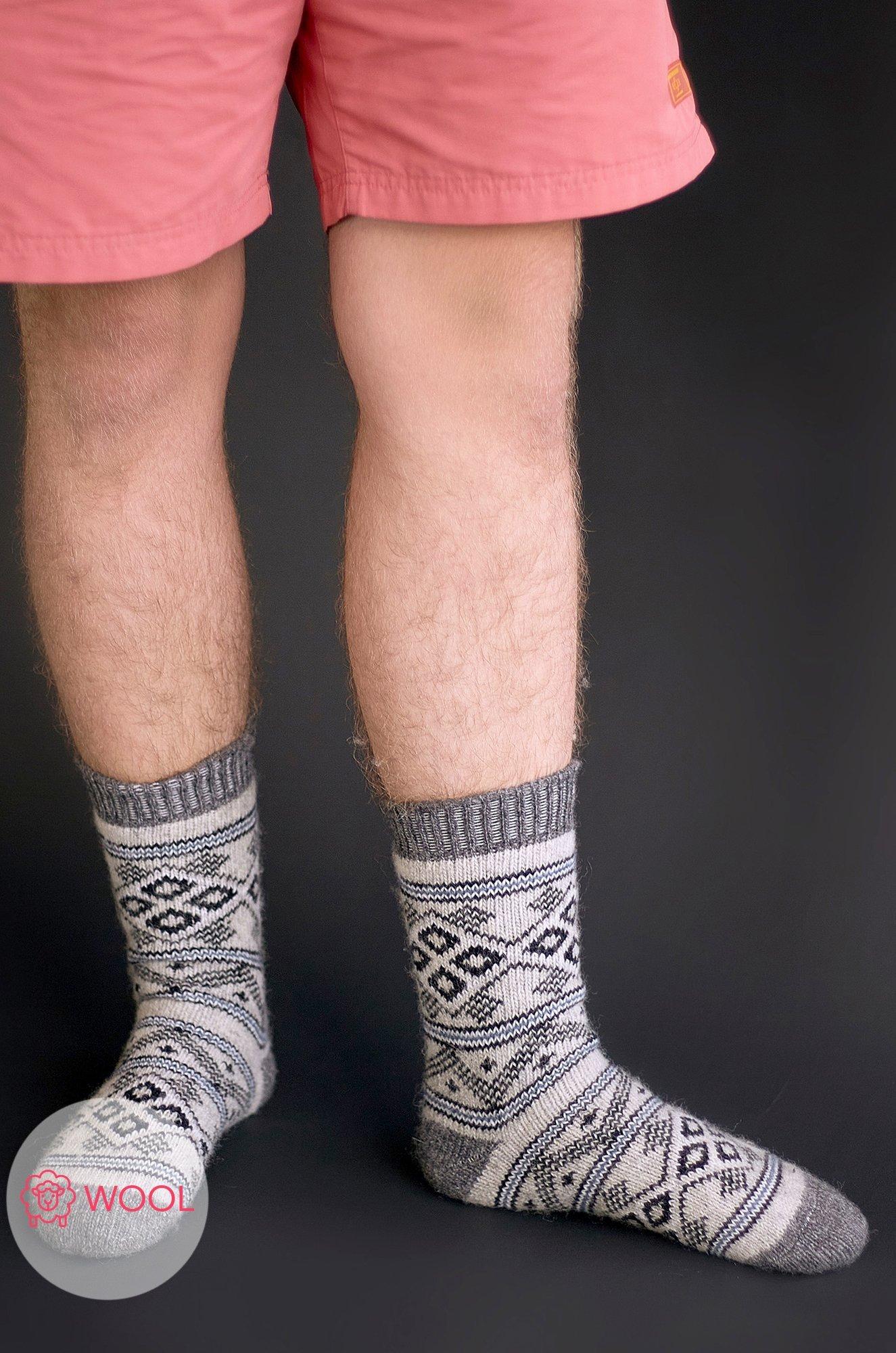 Бабушкины носки, Мужские шерстяные носки Бабушкины носки N6R2151 (475265534)