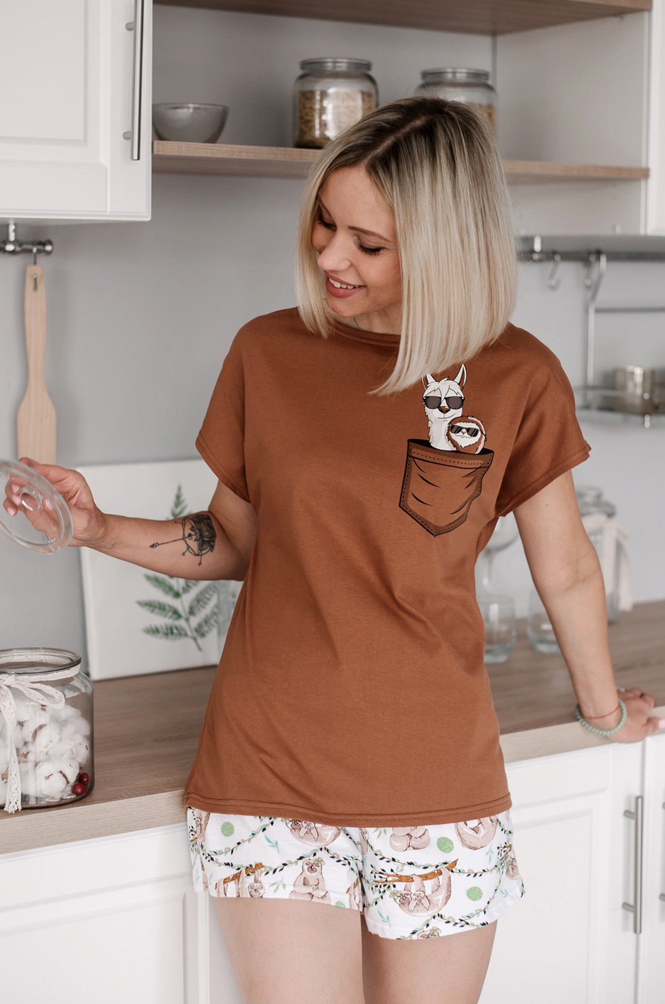 Неженка, Женская пижама NGGHP022 (01120220236)