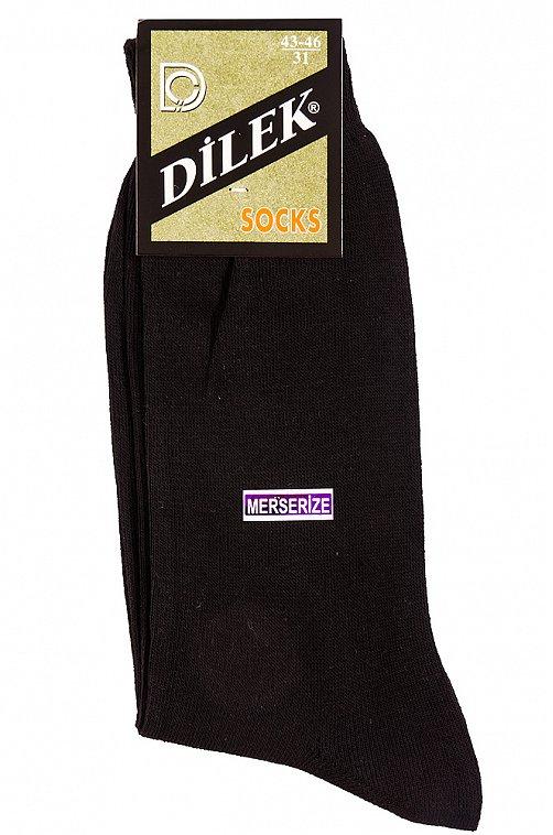 Хлопковые легкие мужские носки Dilek черный
