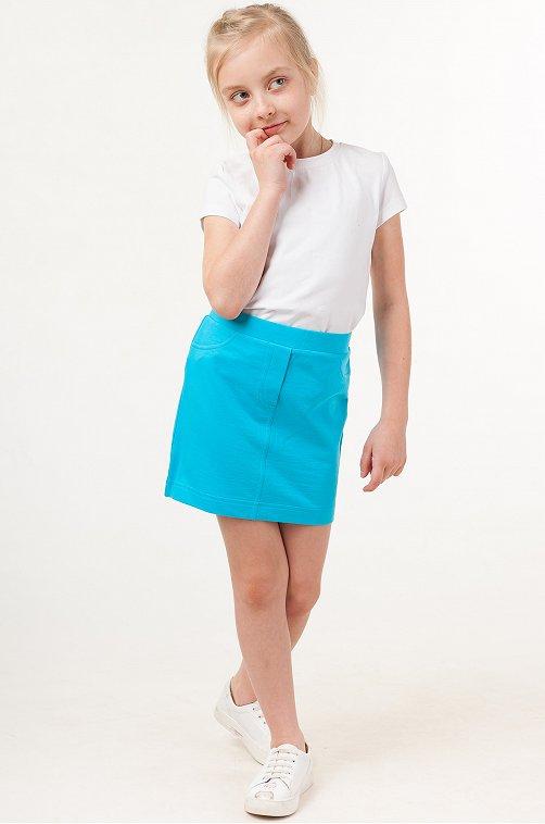 Футболка для девочки Batik 6632824 белый купить оптом в HappyWear.ru