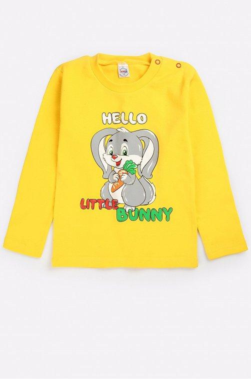 Джемпер для девочки Bonito 6631257 желтый купить оптом в HappyWear.ru