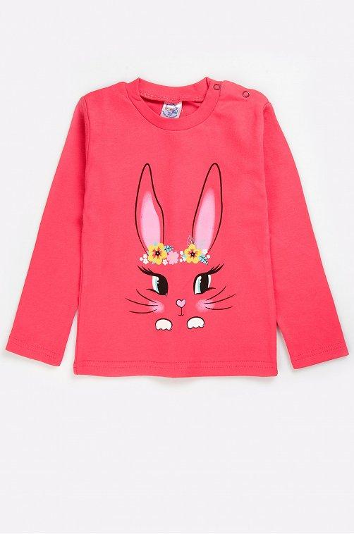 Джемпер для девочки Bonito 6631255 розовый купить оптом в HappyWear.ru