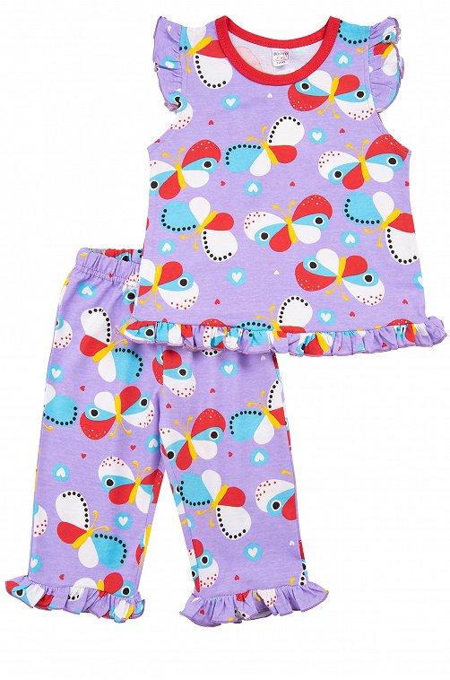 Пижама для девочки Bonito 6612785 фиолетовый купить оптом в HappyWear.ru
