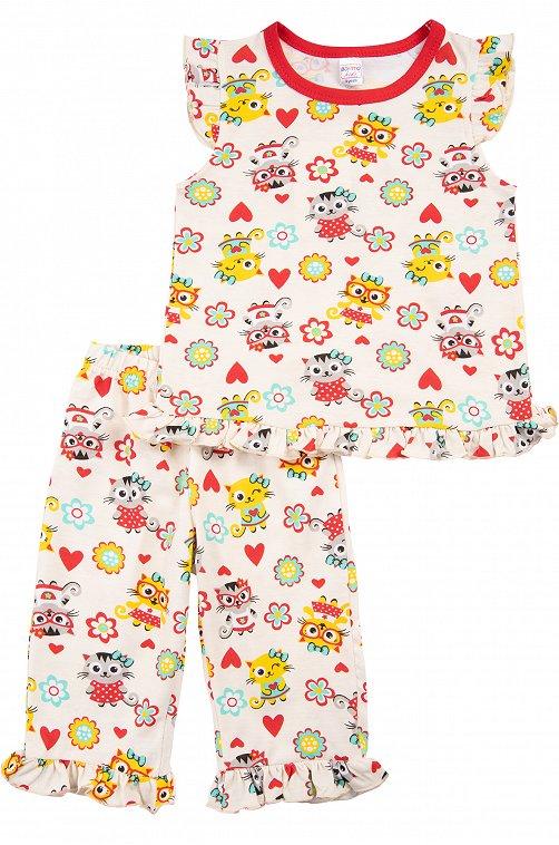 Пижама для девочки Bonito 6612784 мультиколор купить оптом в HappyWear.ru