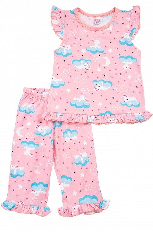 Пижама для девочки Bonito 6612783 розовый купить оптом в HappyWear.ru