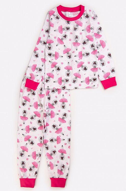 Пижама для девочки Bonito 6631136 белый купить оптом в HappyWear.ru