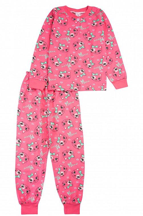 Пижама для девочки Bonito 6612790 розовый купить оптом в HappyWear.ru
