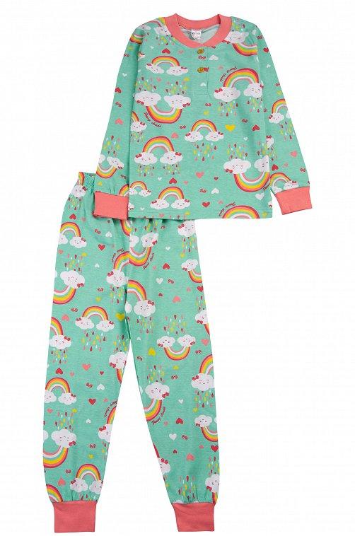 Пижама для девочки Bonito 6612792 голубой купить оптом в HappyWear.ru