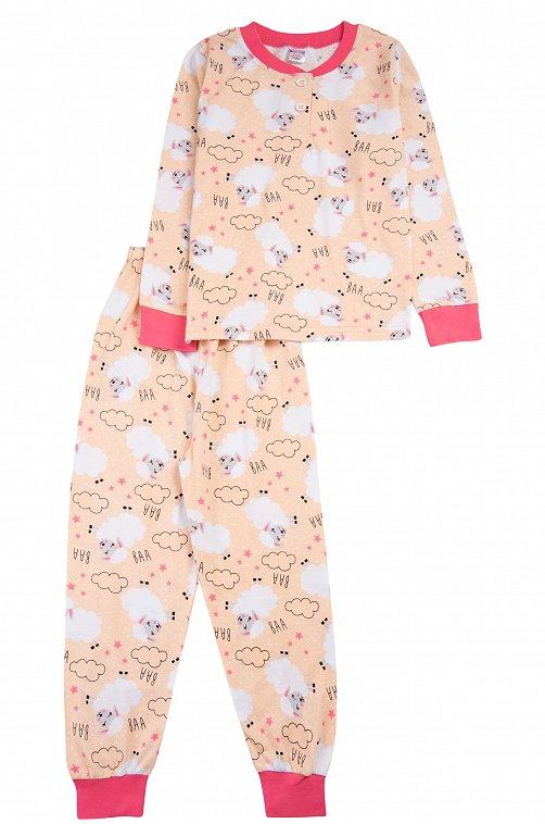 Пижама для девочки Bonito 6612788 розовый купить оптом в HappyWear.ru