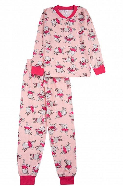 Пижама для девочки Bonito 6612789 розовый купить оптом в HappyWear.ru