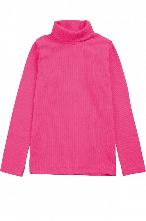 Водолазка для девочки Bonito 6612606 розовый купить оптом в HappyWear.ru