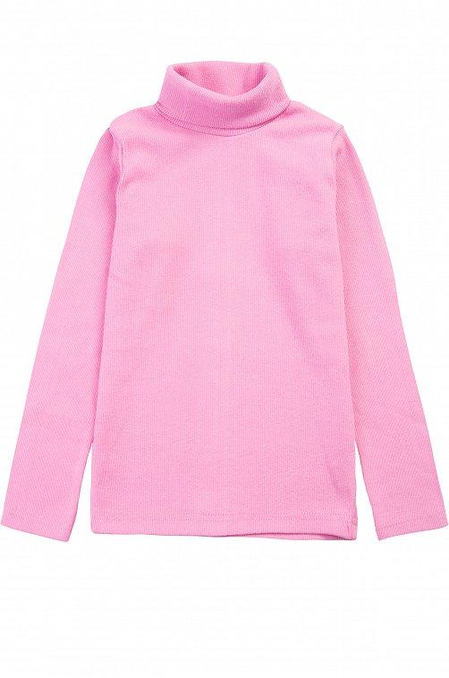 Водолазка для девочки Bonito 6612607 розовый купить оптом в HappyWear.ru
