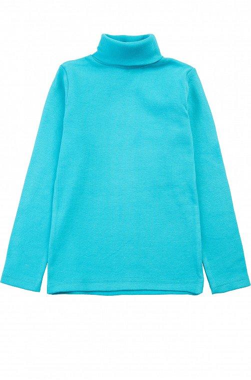 Водолазка для девочки Bonito 6612610 голубой купить оптом в HappyWear.ru