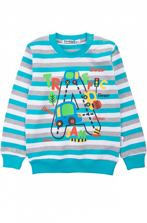 Джемпер для мальчика Bonito 6612619 мультиколор купить оптом в HappyWear.ru