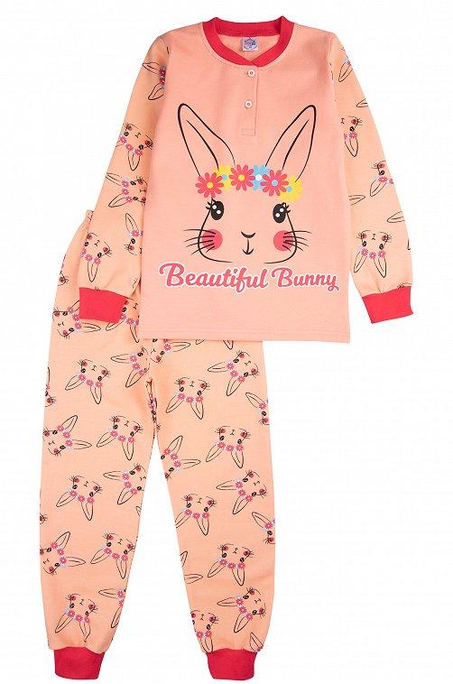 Пижама для девочки Bonito 6613312 розовый купить оптом в HappyWear.ru