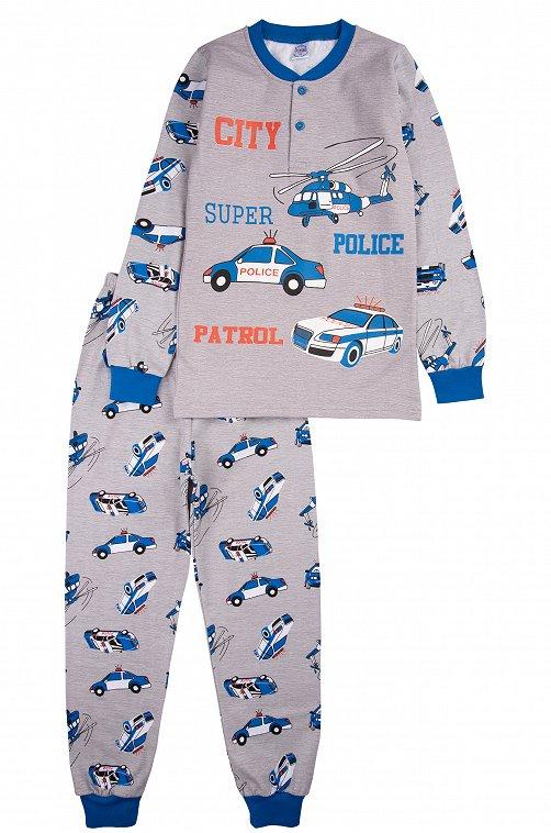 Пижама для мальчика Bonito 6613319 серый купить оптом в HappyWear.ru