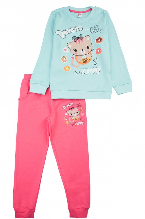 Костюм для девочки Baby Style 6613336 мультиколор купить оптом в HappyWear.ru