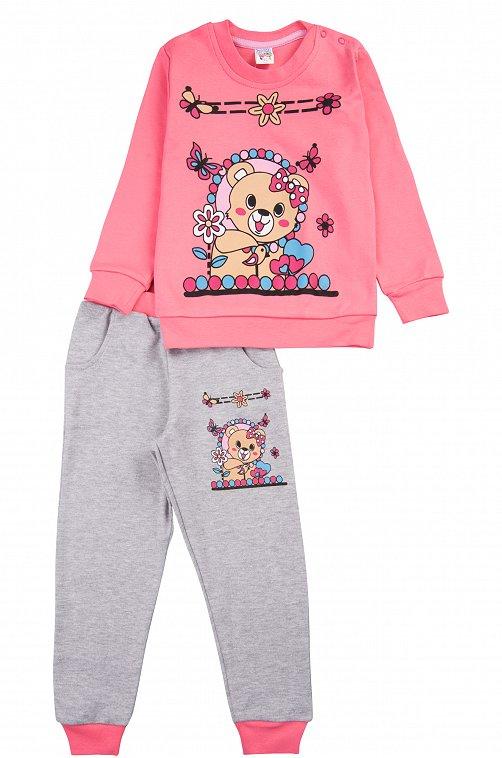 Костюм для девочки Baby Style 6613337 мультиколор купить оптом в HappyWear.ru