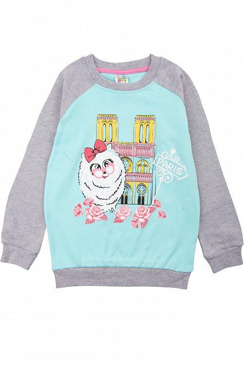 Лонгслив для девочки Baby Style 6613338 мультиколор купить оптом в HappyWear.ru