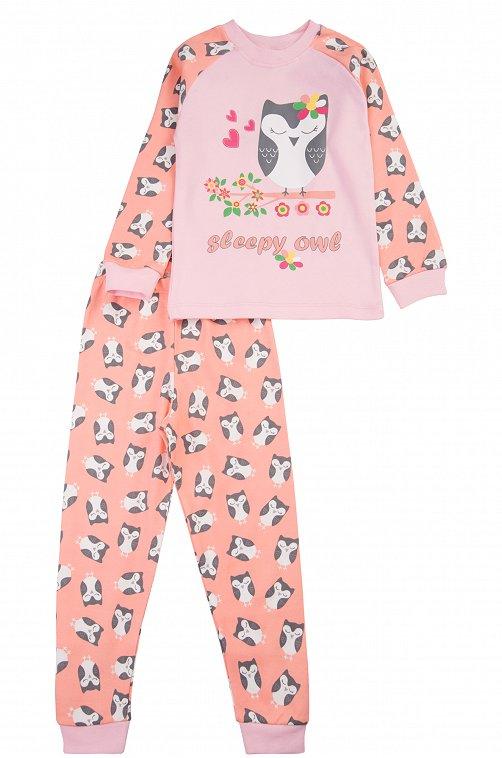 Пижама для девочки Baby Style 6613335 мультиколор купить оптом в HappyWear.ru