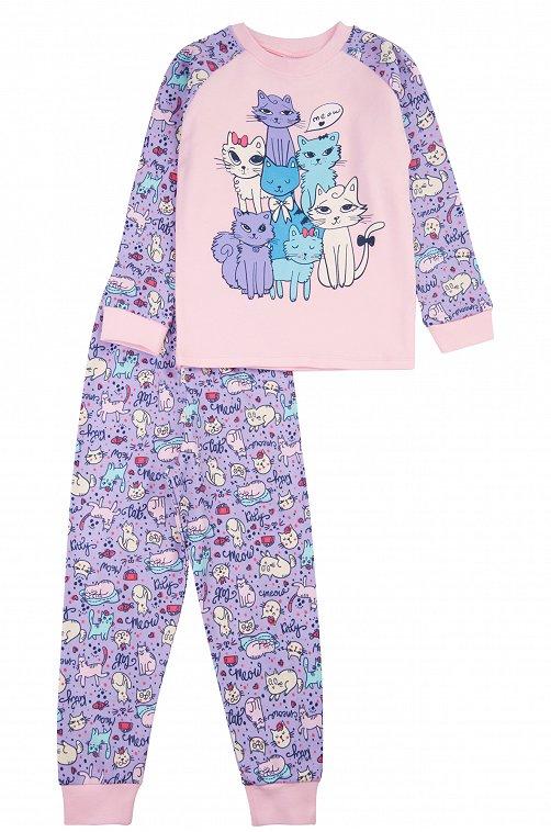 Пижама для девочки Baby Style 6613333 мультиколор купить оптом в HappyWear.ru