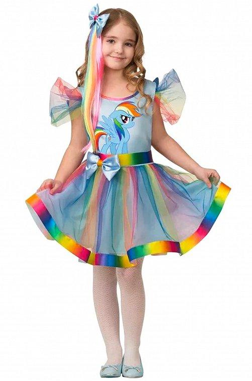 Платье для девочки Батик 6577420 мультиколор купить оптом в HappyWear.ru