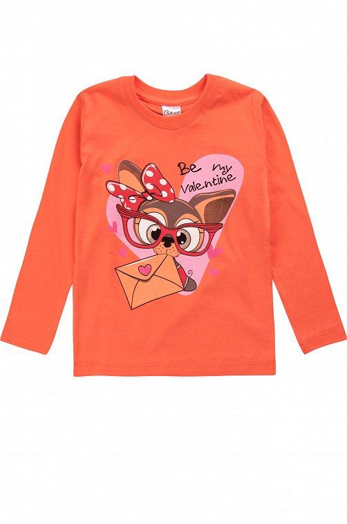 Джемпер для девочки Bella Veza kids 6632001 розовый купить оптом в HappyWear.ru